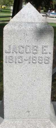 ZEDEKER, JACOB E. - Montgomery County, Ohio | JACOB E. ZEDEKER - Ohio Gravestone Photos