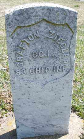 ZIEGLER, GRAFTON - Montgomery County, Ohio | GRAFTON ZIEGLER - Ohio Gravestone Photos