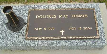 ZIMMER, DOLORES MAY - Montgomery County, Ohio | DOLORES MAY ZIMMER - Ohio Gravestone Photos