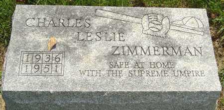 ZIMMERMAN, CHARLES - Montgomery County, Ohio | CHARLES ZIMMERMAN - Ohio Gravestone Photos