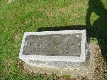 ZIMMERMAN, EVA - Montgomery County, Ohio | EVA ZIMMERMAN - Ohio Gravestone Photos