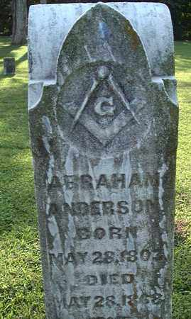 ANDERSON, ABRAHAM - Morgan County, Ohio | ABRAHAM ANDERSON - Ohio Gravestone Photos