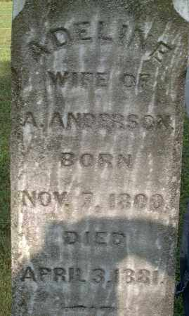 ANDERSON, ADELINE - Morgan County, Ohio | ADELINE ANDERSON - Ohio Gravestone Photos