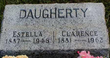 DAUGHERTY, CLARENCE - Morgan County, Ohio | CLARENCE DAUGHERTY - Ohio Gravestone Photos