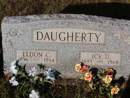 DAUGHERTY, ELDON C. - Morgan County, Ohio | ELDON C. DAUGHERTY - Ohio Gravestone Photos