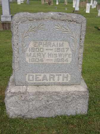 DEARTH, MARY (POLLY) - Morgan County, Ohio | MARY (POLLY) DEARTH - Ohio Gravestone Photos