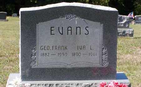 "CARPENTER EVANS, IVA L. (AKA ""IVY"") - Morgan County, Ohio | IVA L. (AKA ""IVY"") CARPENTER EVANS - Ohio Gravestone Photos"