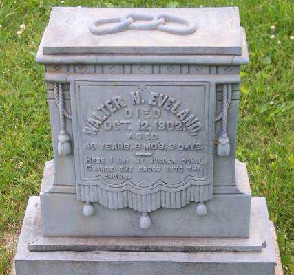 EVELAND, WALTER N. - Morgan County, Ohio | WALTER N. EVELAND - Ohio Gravestone Photos