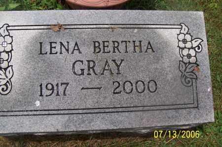WEINSTOCK GRAY, LENA - Morgan County, Ohio | LENA WEINSTOCK GRAY - Ohio Gravestone Photos