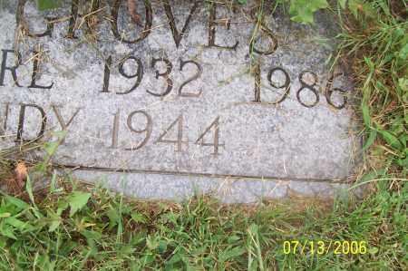 GROVES, CARL - Morgan County, Ohio | CARL GROVES - Ohio Gravestone Photos
