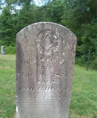 HAINES, HIRAM - Morgan County, Ohio | HIRAM HAINES - Ohio Gravestone Photos