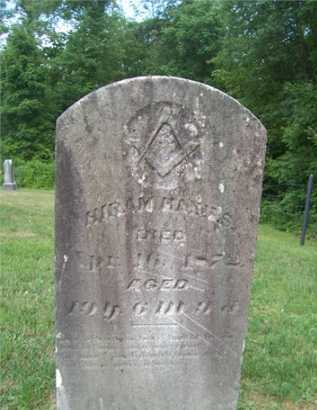 HAINES, HIRAM - Morgan County, Ohio   HIRAM HAINES - Ohio Gravestone Photos