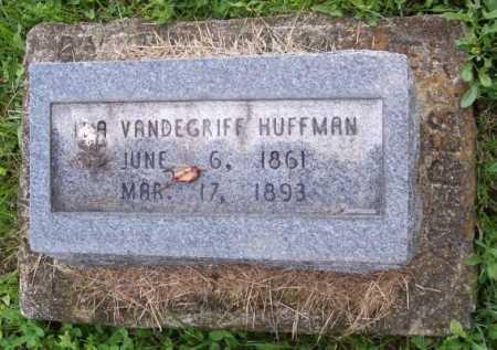 VANDEGRIFF HUFFMAN, IDA - Morgan County, Ohio   IDA VANDEGRIFF HUFFMAN - Ohio Gravestone Photos