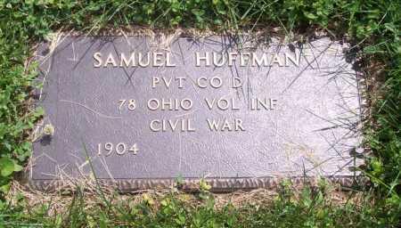 HUFFMAN, SAMUEL - Morgan County, Ohio | SAMUEL HUFFMAN - Ohio Gravestone Photos