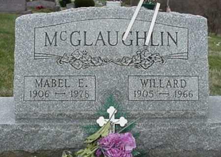 MCGLAUGHLIN, WILLARD - Morgan County, Ohio   WILLARD MCGLAUGHLIN - Ohio Gravestone Photos