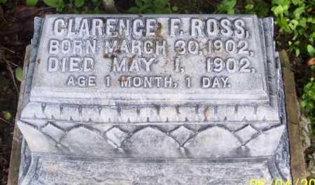 ROSS, CLARENCE F. - Morgan County, Ohio | CLARENCE F. ROSS - Ohio Gravestone Photos