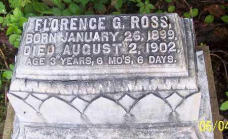 ROSS, FLORENCE G. - Morgan County, Ohio   FLORENCE G. ROSS - Ohio Gravestone Photos