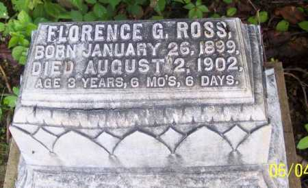 ROSS, FLORENCE G. - Morgan County, Ohio | FLORENCE G. ROSS - Ohio Gravestone Photos