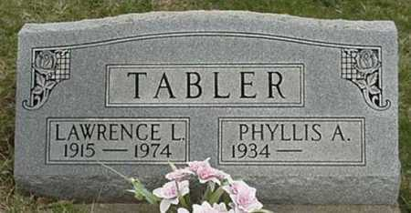 TABLER, LAWRENCE L. - Morgan County, Ohio | LAWRENCE L. TABLER - Ohio Gravestone Photos