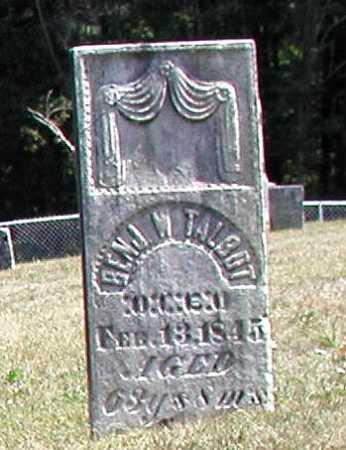 TALBOT, BENJAMIN W. - Morgan County, Ohio | BENJAMIN W. TALBOT - Ohio Gravestone Photos