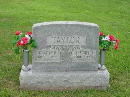 CLIFTON TAYLOR, GLADYS BLANCHE - Morgan County, Ohio | GLADYS BLANCHE CLIFTON TAYLOR - Ohio Gravestone Photos