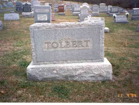 TOLBERT, ELMER AMANUEL - Morgan County, Ohio | ELMER AMANUEL TOLBERT - Ohio Gravestone Photos