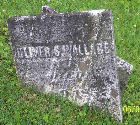 WALLACE, OLIVER S. - Morgan County, Ohio | OLIVER S. WALLACE - Ohio Gravestone Photos
