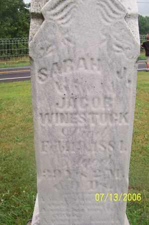 CUNNINGHAM WEINSTOCK, SARAH - Morgan County, Ohio | SARAH CUNNINGHAM WEINSTOCK - Ohio Gravestone Photos