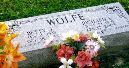 WOLFE, BETTY JEAN - Morgan County, Ohio | BETTY JEAN WOLFE - Ohio Gravestone Photos