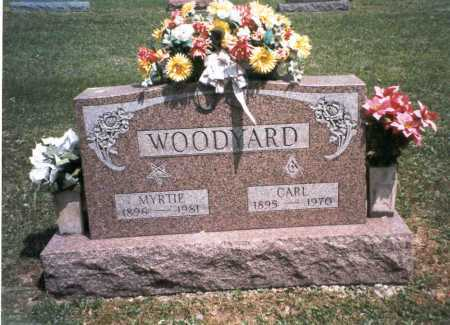 WOODYARD, CARL - Morgan County, Ohio | CARL WOODYARD - Ohio Gravestone Photos