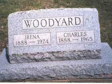 WOODYARD, IRENA - Morgan County, Ohio | IRENA WOODYARD - Ohio Gravestone Photos