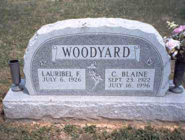 WOODYARD, C. BLAINE - Morgan County, Ohio | C. BLAINE WOODYARD - Ohio Gravestone Photos