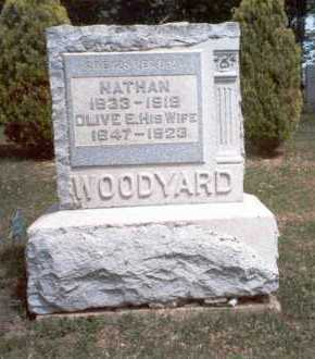 WOODYARD, NATHAN - Morgan County, Ohio | NATHAN WOODYARD - Ohio Gravestone Photos