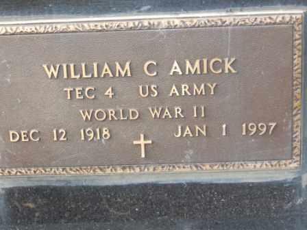 AMICK, WILLIAM C - Morrow County, Ohio   WILLIAM C AMICK - Ohio Gravestone Photos