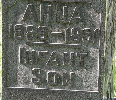 ANDREW, INFANT SON - Morrow County, Ohio   INFANT SON ANDREW - Ohio Gravestone Photos