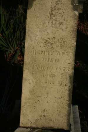 APT, SARAH - Morrow County, Ohio   SARAH APT - Ohio Gravestone Photos