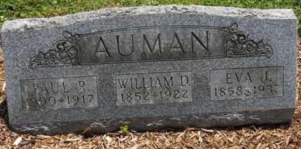 AUMAN, WILLIAM D. - Morrow County, Ohio | WILLIAM D. AUMAN - Ohio Gravestone Photos