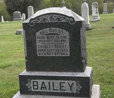 BAILEY, CHARLEY - Morrow County, Ohio | CHARLEY BAILEY - Ohio Gravestone Photos