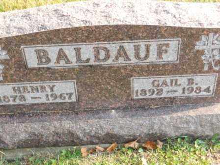 BALDAUF, GAIL B - Morrow County, Ohio | GAIL B BALDAUF - Ohio Gravestone Photos