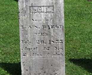 BARGE, HUGH M. - Morrow County, Ohio | HUGH M. BARGE - Ohio Gravestone Photos