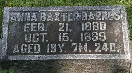 BARNES, ANNA - Morrow County, Ohio | ANNA BARNES - Ohio Gravestone Photos