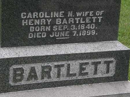 BARTLETT, CAROLINE N. - Morrow County, Ohio | CAROLINE N. BARTLETT - Ohio Gravestone Photos