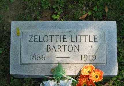 BARTON, ZELOTTIE LITTLE - Morrow County, Ohio | ZELOTTIE LITTLE BARTON - Ohio Gravestone Photos