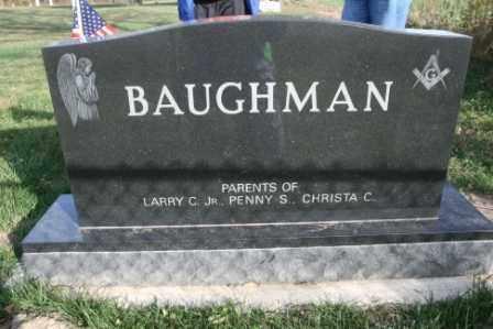 BAUGHMAN, LARRY C JR - Morrow County, Ohio | LARRY C JR BAUGHMAN - Ohio Gravestone Photos