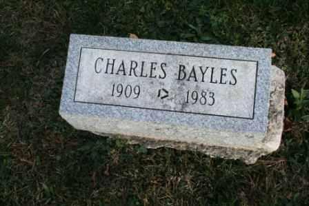 BAYLES, CHARLES - Morrow County, Ohio | CHARLES BAYLES - Ohio Gravestone Photos