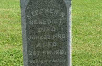 BENEDICT, STEPHEN N. - Morrow County, Ohio | STEPHEN N. BENEDICT - Ohio Gravestone Photos