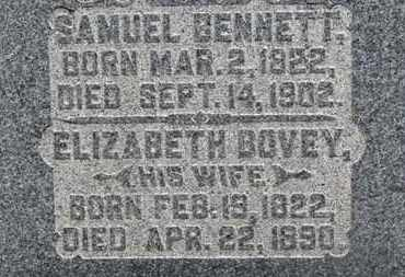 BENNET, ELIZABETH - Morrow County, Ohio | ELIZABETH BENNET - Ohio Gravestone Photos