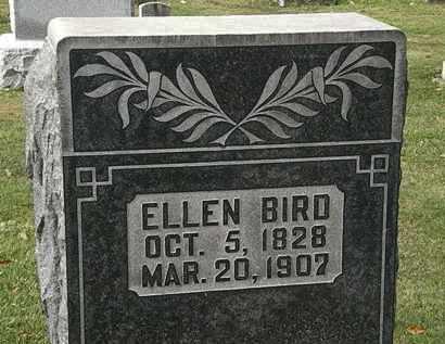 BIRD, ELLEN - Morrow County, Ohio   ELLEN BIRD - Ohio Gravestone Photos