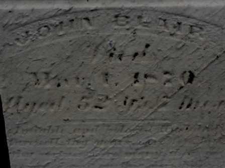 BLAIR, JOHN - Morrow County, Ohio   JOHN BLAIR - Ohio Gravestone Photos