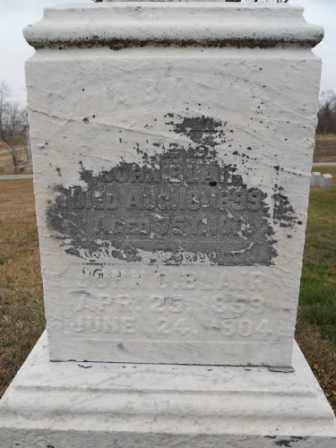 BLAIR, LYDIA B - Morrow County, Ohio | LYDIA B BLAIR - Ohio Gravestone Photos